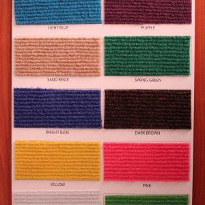 Carpet Tiles – Exhibition Carpets (Super Ribs)